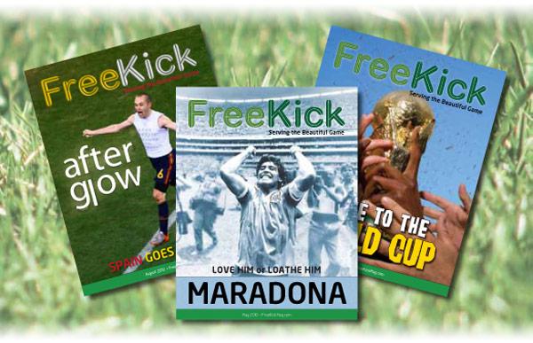 Free Kick Magazine issues