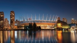 BC Place rendering
