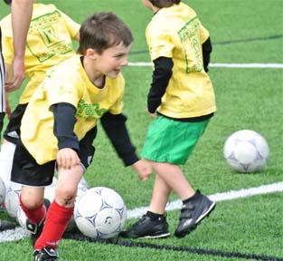 Spring Soccer Action 2012
