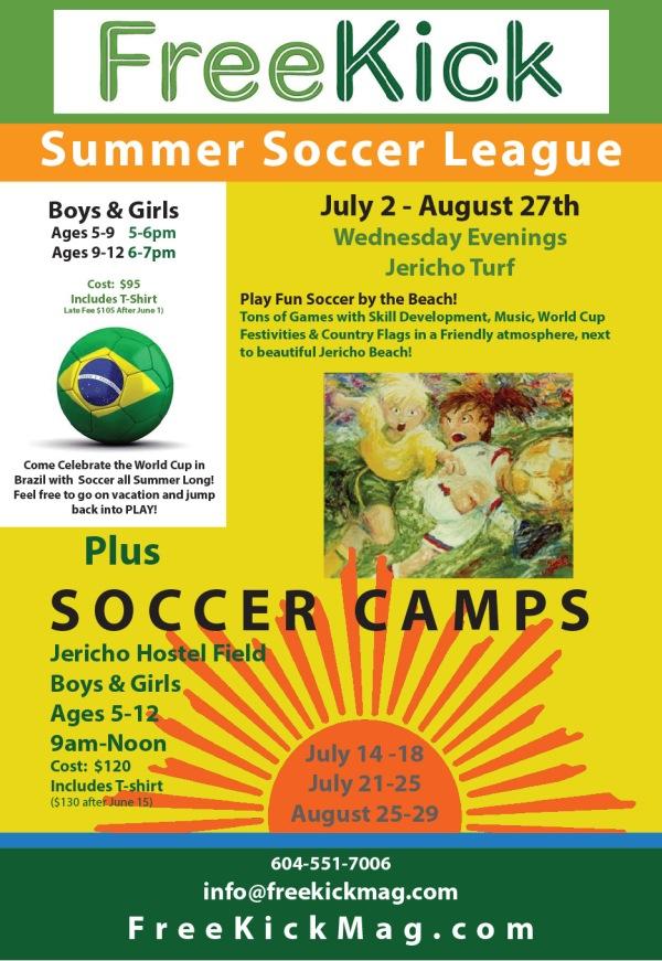 Summer Soccer Poster 2014